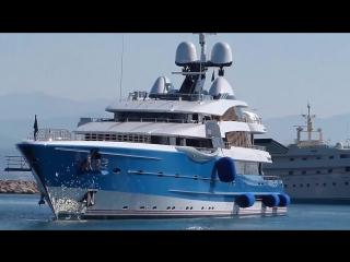 Супер яхта Madame Gu 150,000,000 US$ длинной 99 метров построенная в Нидерландах.