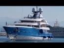 Супер яхта Madame Gu 150 000 000 US$ длинной 99 метров построенная в Нидерландах