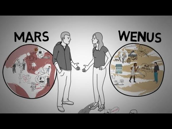 Mężczyźni są z Marsa Kobiety z Wenus - John Gray część 1