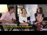 Interview with Alex Roe, Maika Monroe, and Maia Mitchell about HOT SUMMER NIGHTS