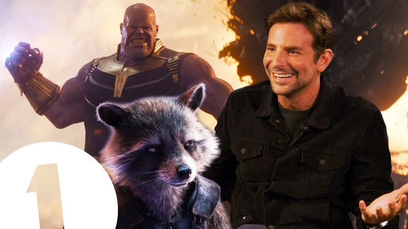 Thanos has a point! Bradley Cooper on The Avengers, Lady Gaga fighting Robert De Niro.