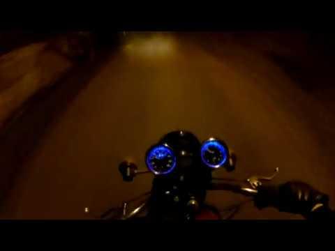 Ночная погоня за скутеристом
