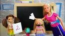 ПОЧЕМУ ПОДРУГА ПРОМОЛЧАЛА Мультик Барби Школа Игры в Куклы Для девочек