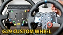 G29 CUSTOM WHEEL MOD HOW TO INSTALL LOGITECH UPGRADE DIY