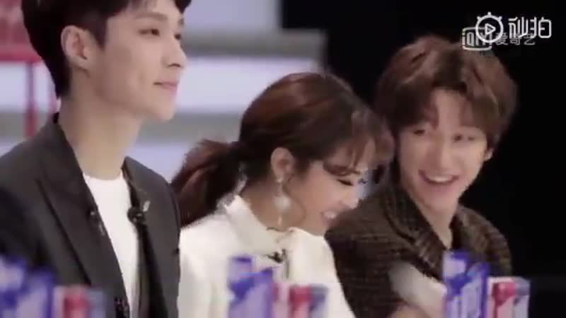 190105 more mentor xmh footage ! ❣️