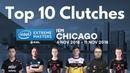 2018 IEM Chicago Top 10 Clutches S1mple Stewie2k Aizy Gla1ve Ropz Xizt