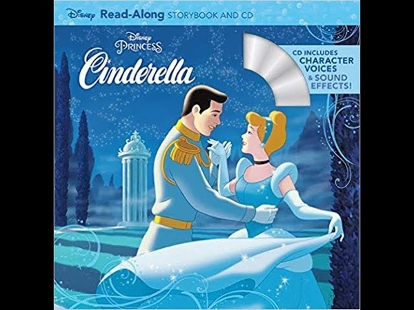 Walt Disney's Cinderella Read-Along Storybook I Little Ones Story Time Video Library