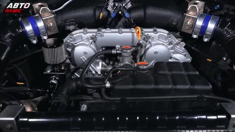 Основательно доработанный Nissan GTR _ Тюнинг по-русски