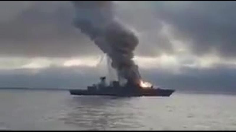 Ракета взорвалась в пусковой установке на борту немецкого фрегата