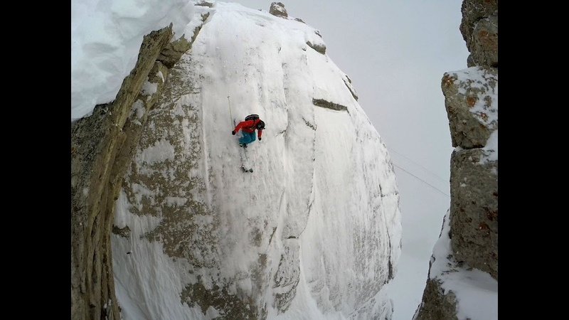 SS Wallride at Jackson Hole, 85 Foot Cliff Front Flip, Drone Powder Skiing with Owen Leeper