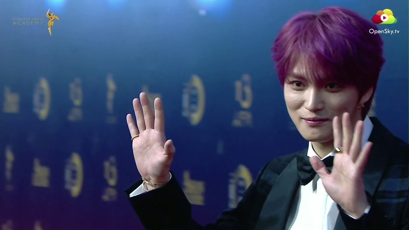 17.03.2019 Jaejoong The 13th Asian Film Awards Red Carpet ジェジュン 김재중