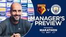 Pep Guardiola previews Watford v Man City   PRESS CONFERENCE