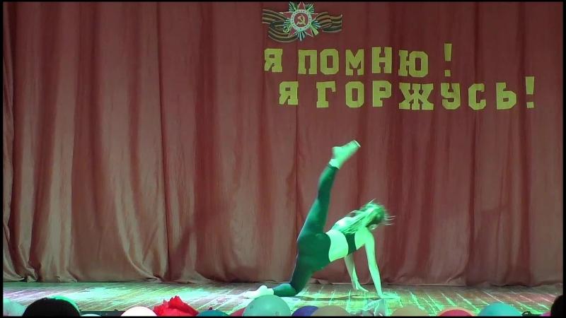 2018 07 06 Финальный концерт танец Соло Стоякова Ксения 1м37с