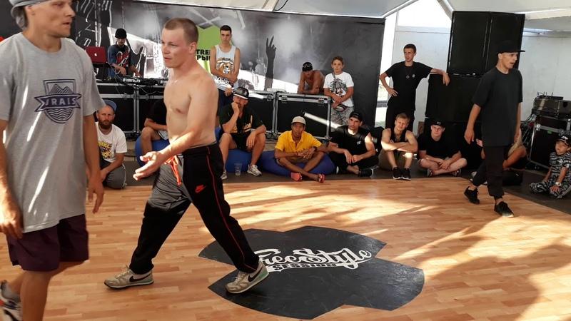 Extreme crimea Footwork battle Skillz X Bookaa X Mel aka Inside