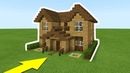 Minecraft Tutorial: How To Make The Ultimate Wooden Starter House Everything you need to survive
