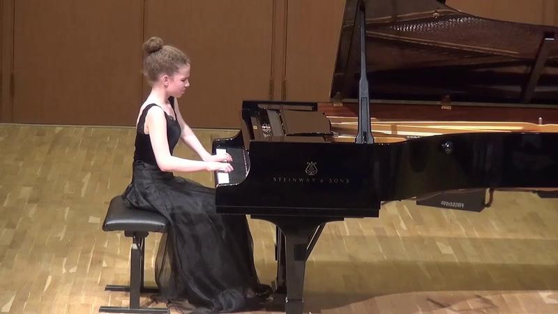 26.05.2018 V. Kutuzova in Concert of Mira Marchenko class' students, I-st part (Fragment)