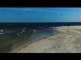 Ейская коса. Азовское море