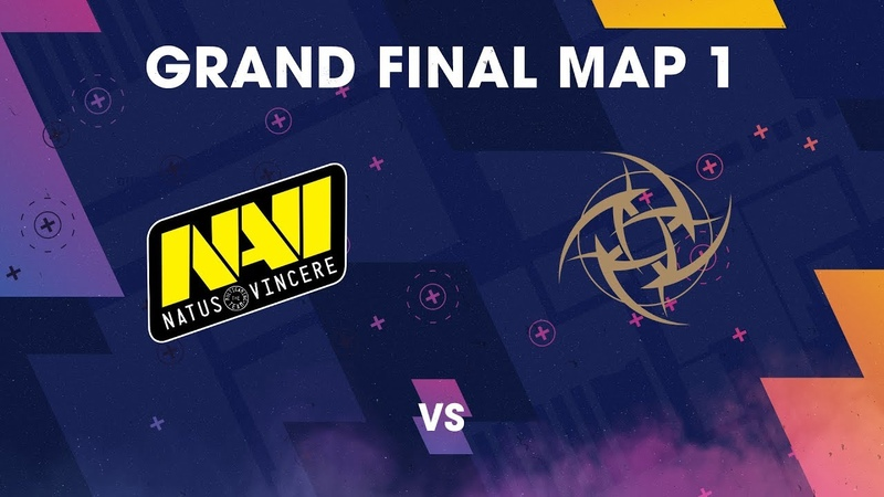 BLAST Pro Series Copenhagen 2018 - Grand Final NaVi vs. NiP (Map1)