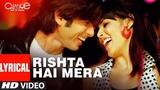 Lyrical Rishta Hai Mera Chance Pe Dance Shaan, Tulsi Kumar Adnan Sami