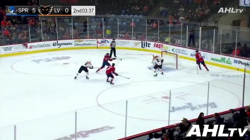 Henrik Borgstrom scores his first The AHL goal!