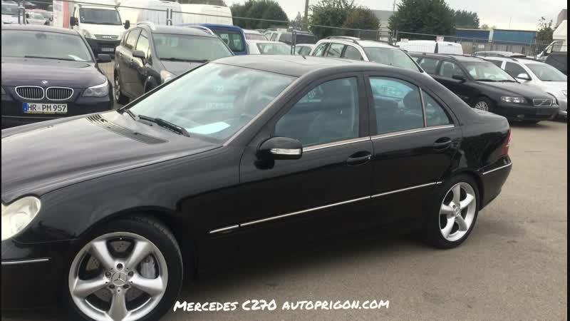 Mercedes C270 купили для клієнта