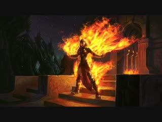 Magic The Gathering : Chandra Roaring Flame - [4K]