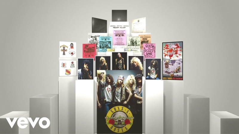 Guns N' Roses - Super Deluxe Edition (Unboxing Video)