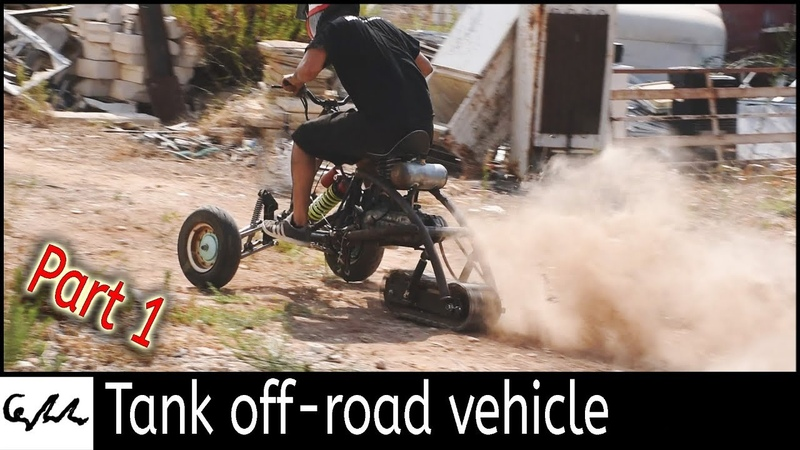 Making a track drive trike 1