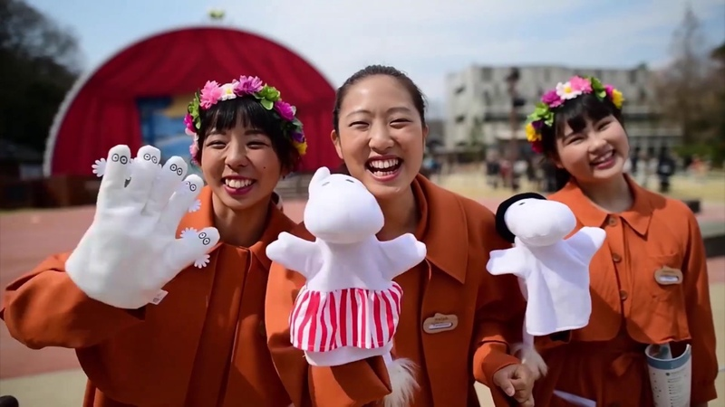 В Японии открылся первый крупный парк муми-троллей за пределами Финляндии