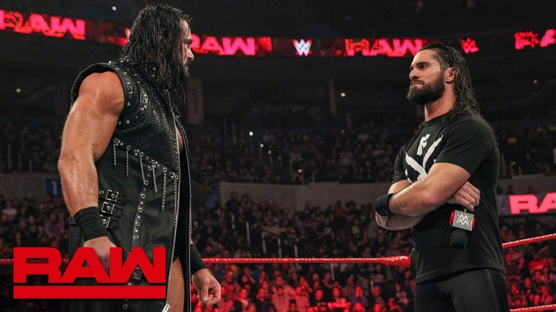 The «Kingslayer»: Seth Rollins and Drew McIntyre trade words before their match: Raw, Jan. 21, 2019