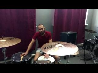 Видео приглашение на курсы по игре на ударных инструментах