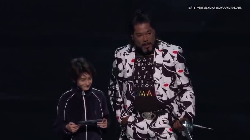 Kratos: Read It BOI - The Game Awards 2018 BEST MOMENT Read it boy