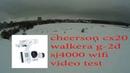 полёт с подвесом walkera g 2d cheerson cx20