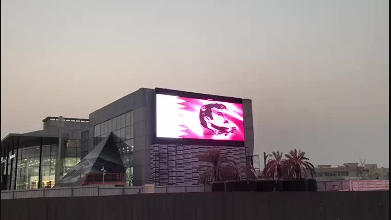 Outdoor P10 LED Screen for Benz 4S store