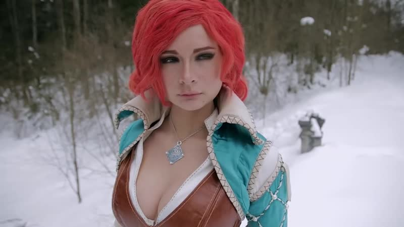 Triss Merigold cosplay video