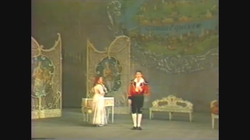 Дуэт Фигаро и Розины из оперы Севильский цирюльник