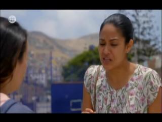 Escena de Erika Villalobos en Mi Espe Numero 61