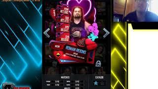 WWE Supercard 5.8. SHATTERED TBG PACKS 11500 GAMES FEMALE!
