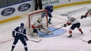 Yanni Gourde buries pretty give-and-go with Stamkos