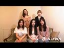 180818 Red Velvet @ a-Nation 2018 Message