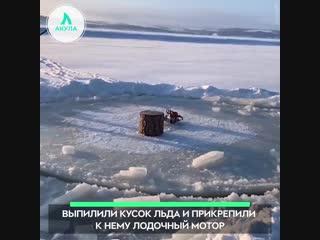 Карусель из льдины | АКУЛА