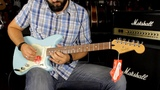 FENDER OFFSET DUO-SONIC HS PAU FERRO DAPHNE BLUE - Demo