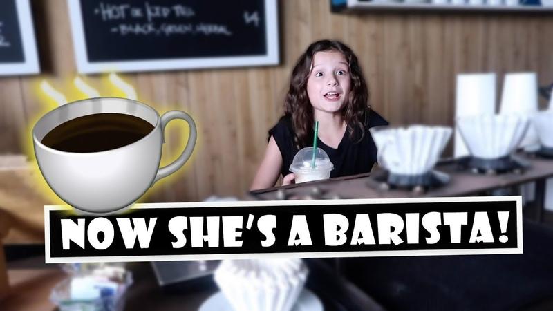 Now Shes a Barista! ☕ (WK 393) | Bratayley