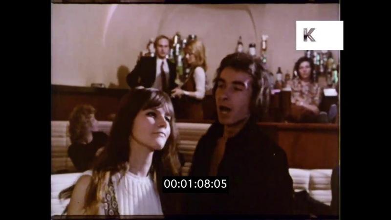 1960s, 1970s Nightclub, Dancing, Bar, HD from 16mm