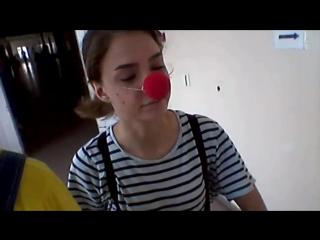 клоун Сердечкин в больнице