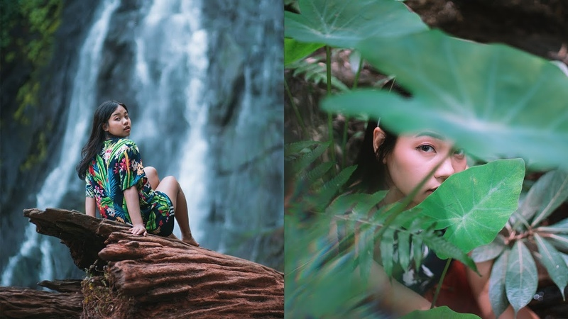 17 Fun and Creative shoot Props Portrait at Waterfall Photo Ideas 📷💦