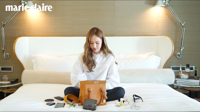 [ENGSUB] Whats in Jessica bag - Marie Claire Taiwan