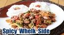 Spicy Whelk Side 골뱅이 무침 Taste Test