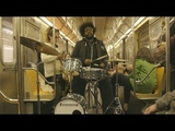 Questlove in NYC Sky Cover Shoot