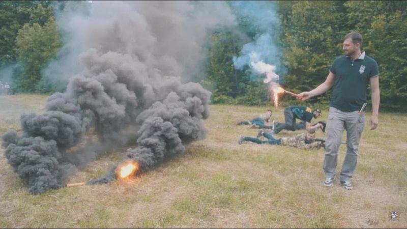 Нацкорпус провів воєнно-патріотичну гру «Сокіл» («Джура») на Вінничині